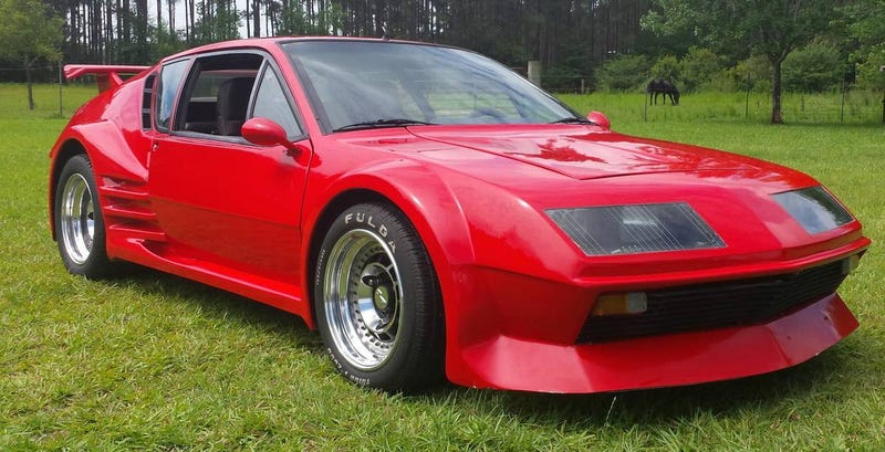 Illustration for article titled Could This Fleismann-Modded 1980 Renault Alpine A310 Be Worth $29,995?