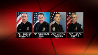 Four Winston-Salem, N.C., police officers were placed on administrative duty after 31-year-old Travis Nevelle Page died in their custody. WXII screenshot