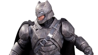 Illustration for article titled This Statue is Our Best Look Yet at Batman v Superman's Armored Batman
