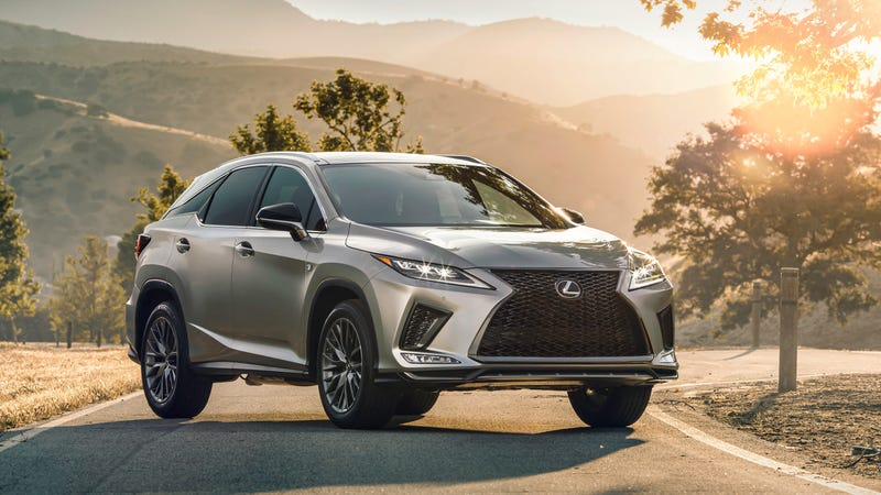 The 2020 Lexus RX Finally Gets Android Auto and Not a Whole Lot Else