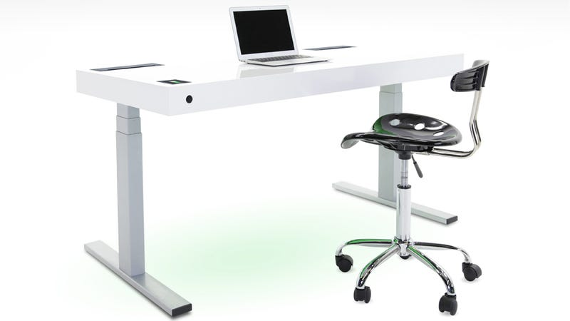 Illustration for article titled This Smart Desk Will Track the Calories You Burn By Simply Standing Up