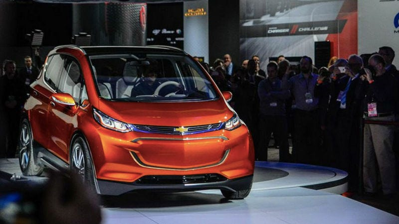The Production Ready Electric Chevrolet Bolt Will Blossom At Ces