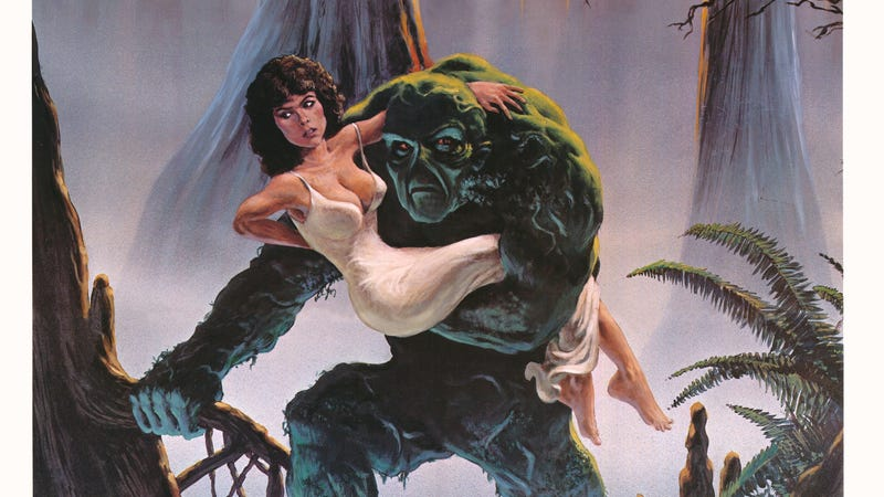 Illustration for article titled Swamp Thing's coming, hide your heart girl