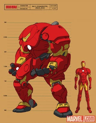 Illustration for article titled How Many Armors Does Tony Stark Have?