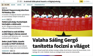 Illustration for article titled Sáling Gergő nem főszerkeszti tovább az Origót