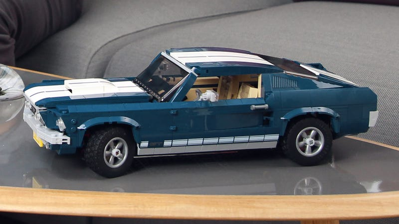Illustration for article titled If You Can't Afford a Real 1967 Ford Mustang There's Always This Lego Version