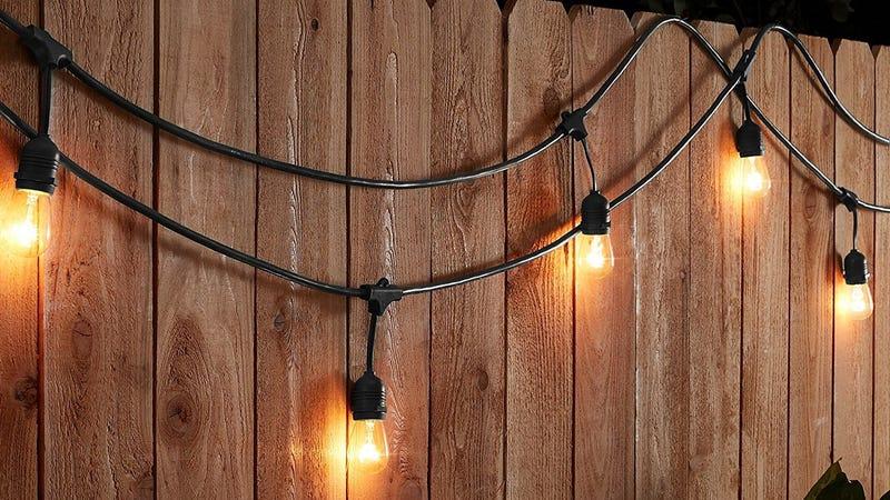 AmazonBasics 48' String Lights | $31 | Amazon