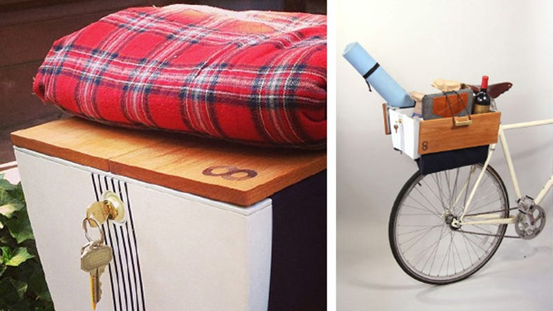 Illustration for article titled This Secure, Waterproof Box Is Like A Car Trunk For Your Bike