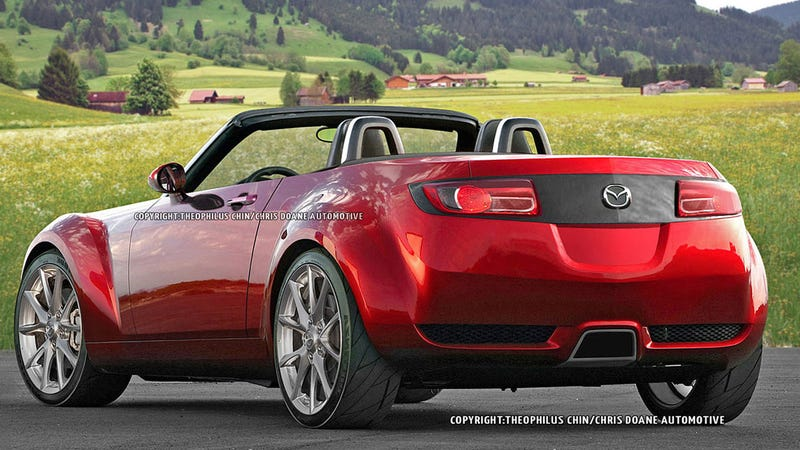 Illustration for article titled What's the worst rendering of the 2015 Miata?