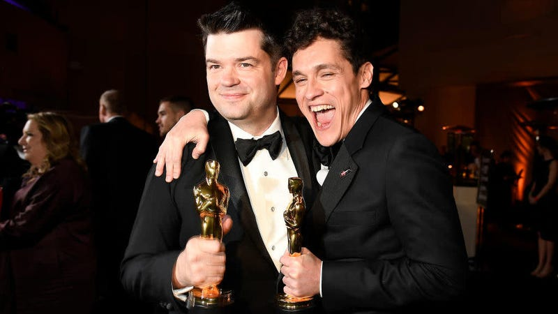Recent Spider-Verse Oscar winners Chris Miller and Phil Lord are staying in the Spider-game.