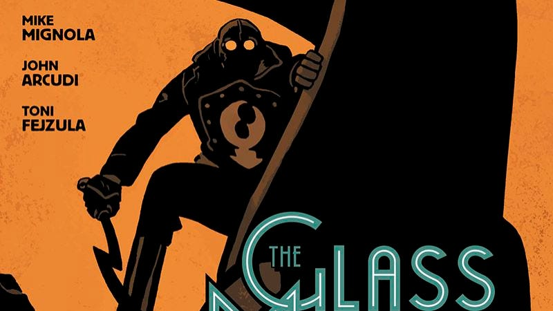 Illustration for article titled Exclusive Dark Horse preview: Lobster Johnson: The GlassMantis offers classic pulp thrills