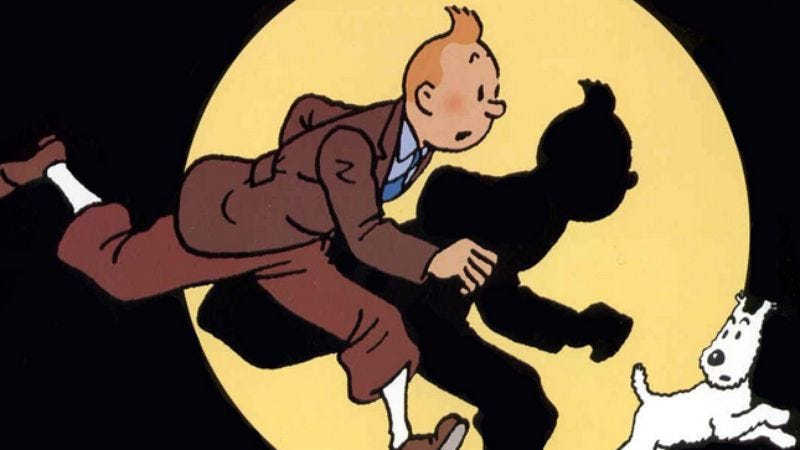Illustration for article titled The Adventures Of Tintin