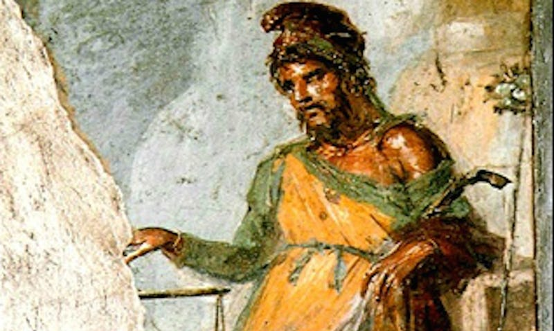 Illustration for article titled Famous Roman Painting of Priapus May Include Painful Penis Condition