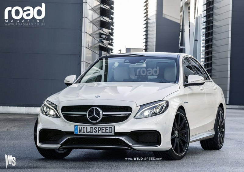 Illustration for article titled The New Mercedes-Benz C63 AMG Rendered