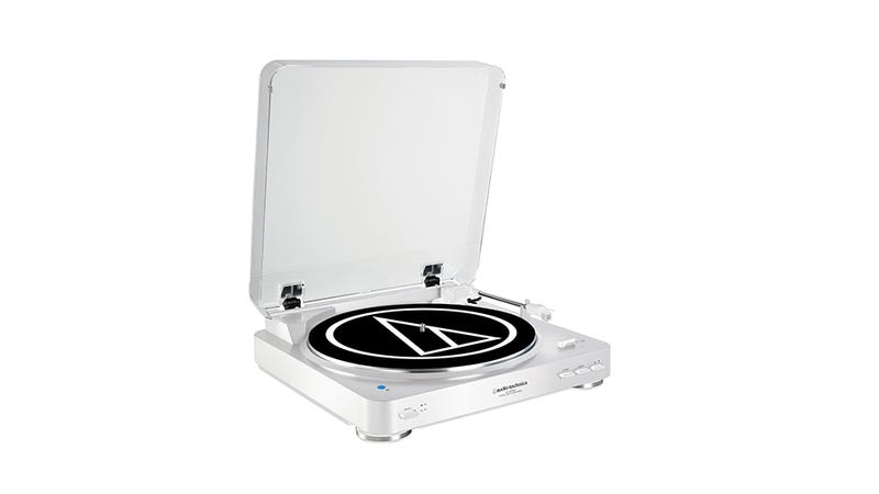 Illustration for article titled Audio-Technica's New Turntable Will Play On Your Bluetooth Speakers