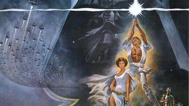 Illustration for article titled An Original Film Print of Star WarsHas Been Restored and Released Online