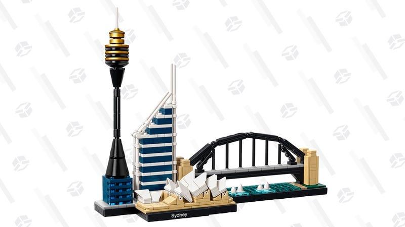 Set de LEGO Casa de la Ópera de Sydney | $24 | AmazonGráfico: Erica Offutt
