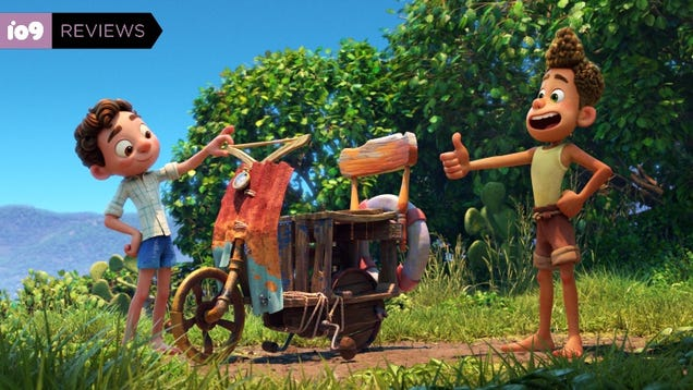 Pixar s Luca Is a Lovely, Funny Movie That Tries a Little Too Hard