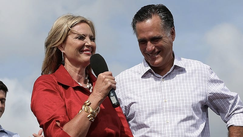Illustration for article titled Ann Romney Wants You Meanies to Leave Her Husband Alone