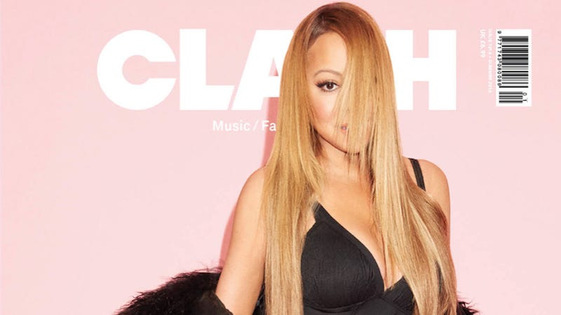 Illustration for article titled Mariah Carey's Clash Cover Obeys the Rules of Photoshop