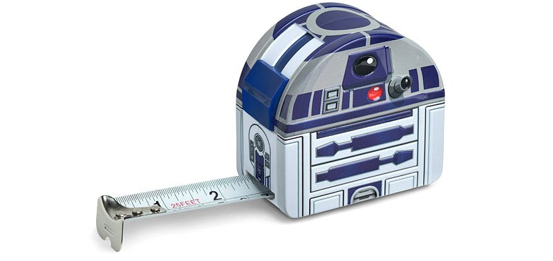 Illustration for article titled Now You Can Measure How Long It Will Take for R2-D2 to Get Sick of Being Merchandised