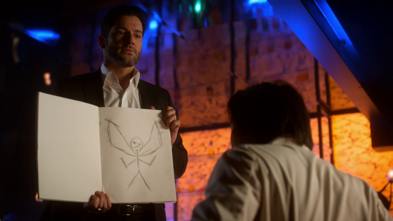 """Illustration for article titled After trying to be the """"Super Bad Boyfriend,"""" Lucifer has a major breakthrough"""