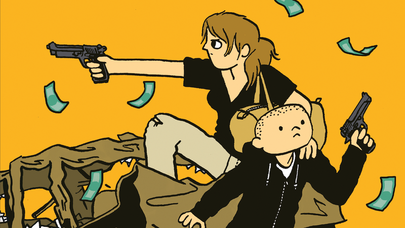Illustration for article titled A mother-son pair of thieves evade the heat in thisBastardexclusive
