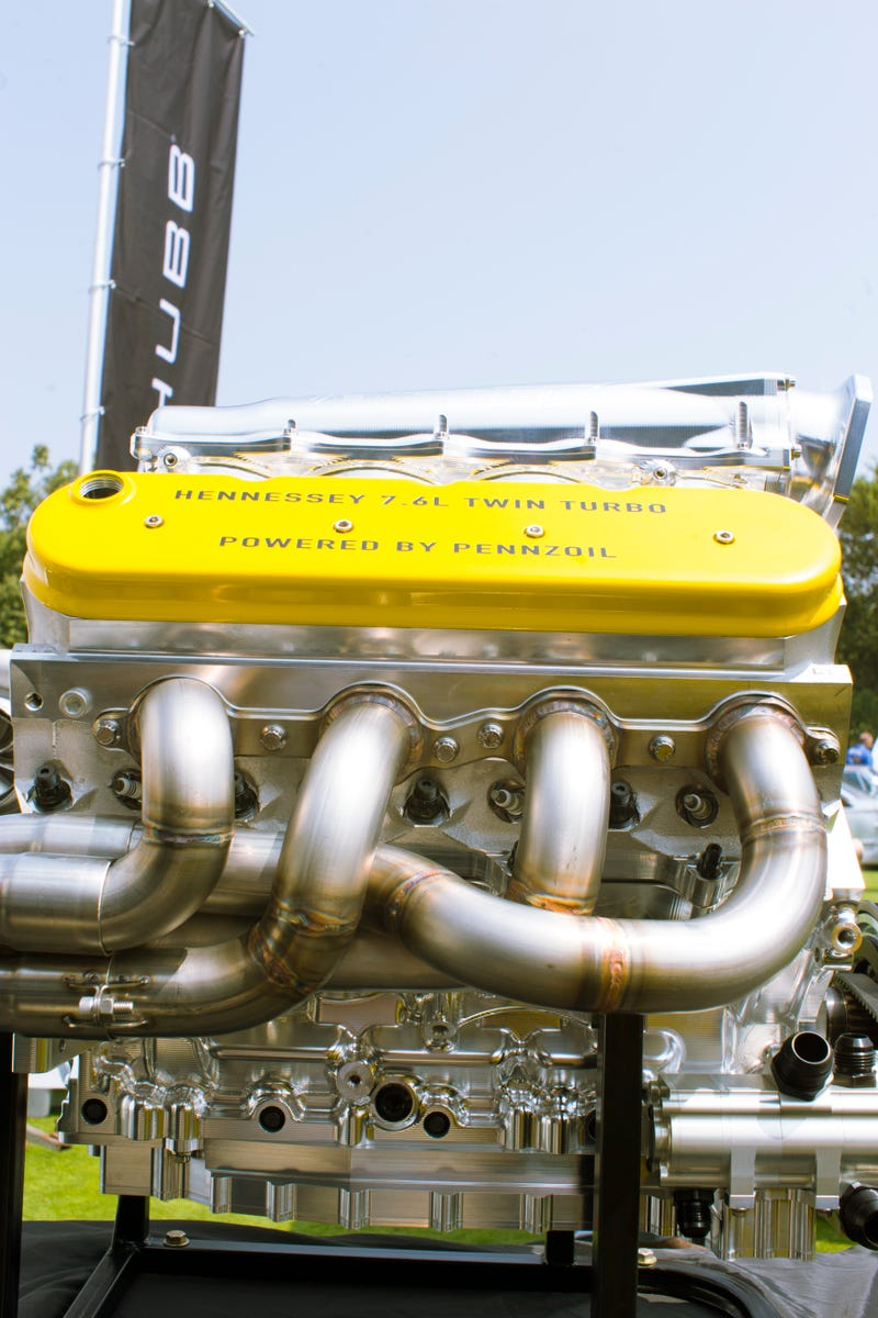The Hennessey Venom F5 Engine Isn't As Unique As They Say