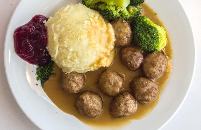 Un plato de albóndigas suecas... perdón, turcas.