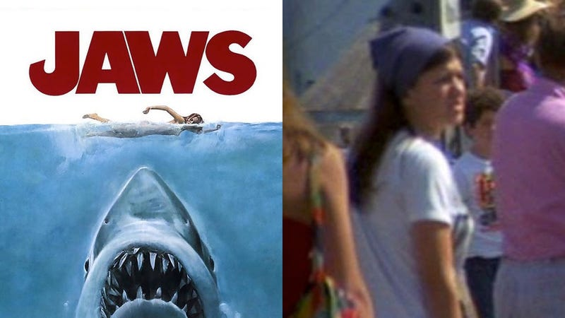 Illustration for article titled El hijo de Stephen King está convencido de que la película Jaws puede resolver un asesinato de 1974