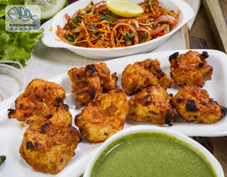 Illustration for article titled Buy Toothsome Fish Pakora And Tikka Online In Delhi