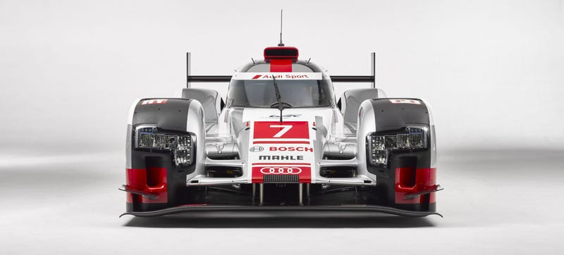 Illustration for article titled The Audi R18 Just Lost Some Downforce To Be Blindingly Fast At Le Mans