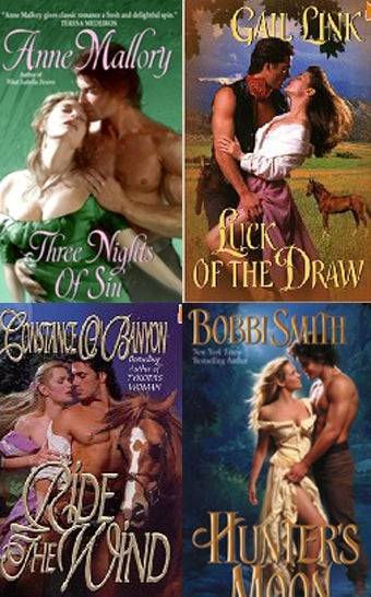 """Illustration for article titled Romance Novel Readers Love """"The Clinch"""""""