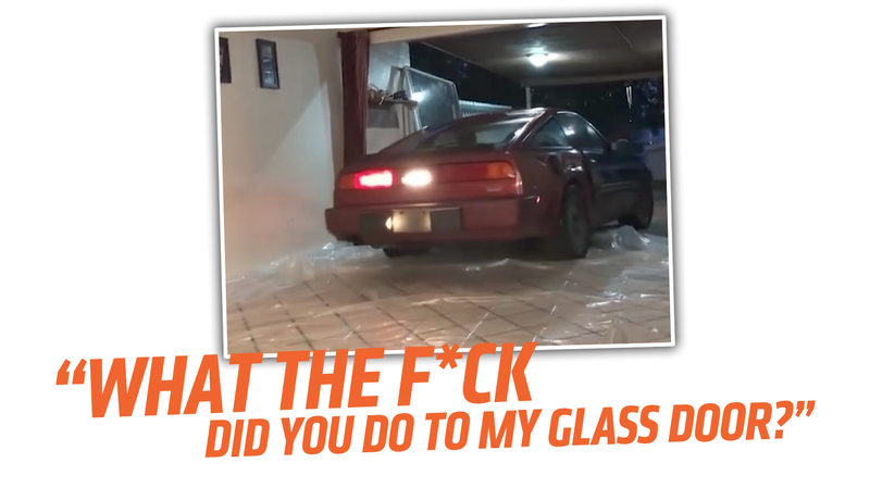 Illustration for article titled Man Dismantles House Door To Stash Nissan 300ZX Inside Before Hurricane Irma