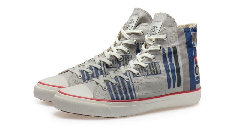 Introducing Po-Zu's brand new R2-D2 hightops.