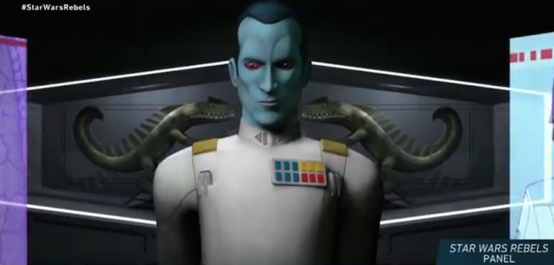 Illustration for article titled Grand Admiral Thrawn Joins Rebels and the New Star Wars Canon