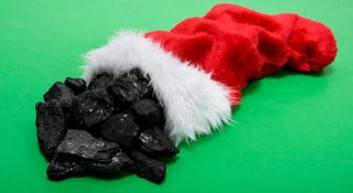 Illustration for article titled A Stocking Full of Coal