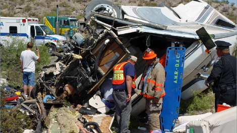 These Motorhome and RV Crash Tests Are Remarkably Terrible