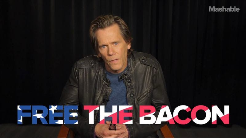 Illustration for article titled Kevin Bacon desperately wants more male nudity in Hollywood