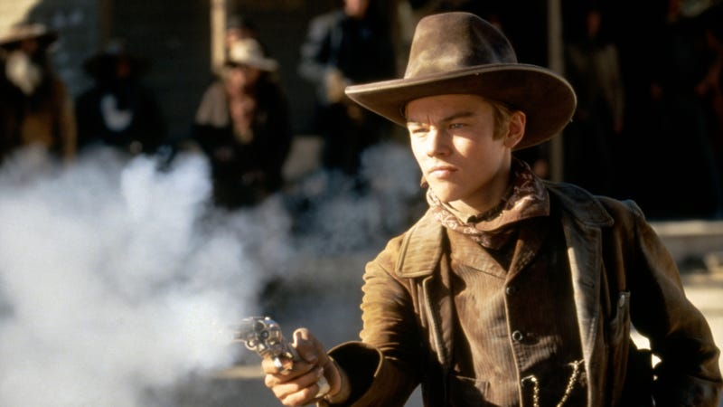 DiCaprio, as a fresh-faced young cowboy actor working for Sam Raimi on The Quick And The Dead (Photo: TriStar Pictures/Sunset Boulevard/Corbis via Getty Images)
