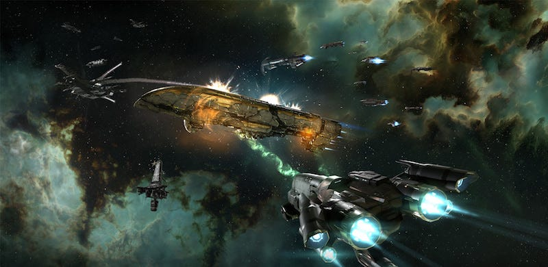 Illustration for article titled The Great Wars Of EVE Online