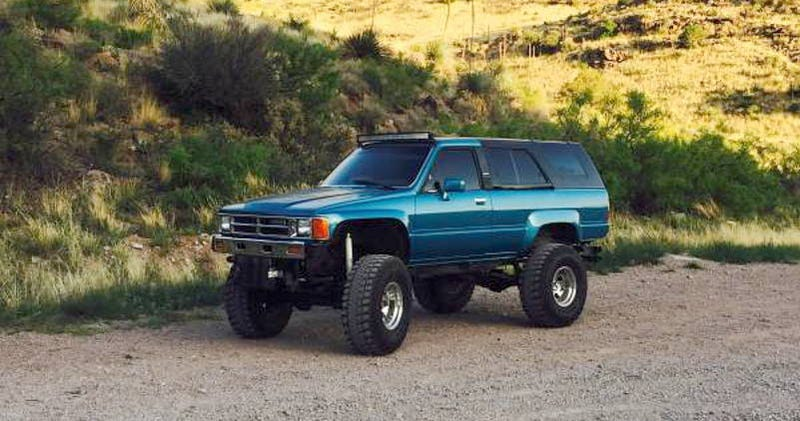 Illustration for article titled For $8,000, This 1987 Toyota 4Runner Hides Something Supra