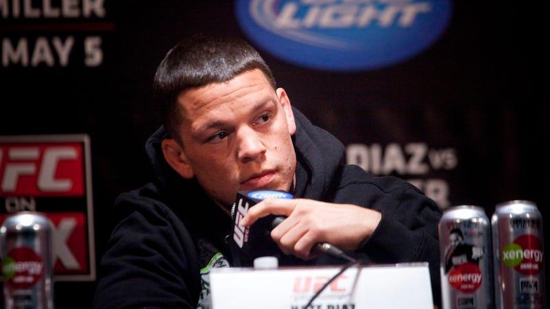 Illustration for article titled UFC Fighter Uses Homophobic Slur, Manager Offers Moronic Defense