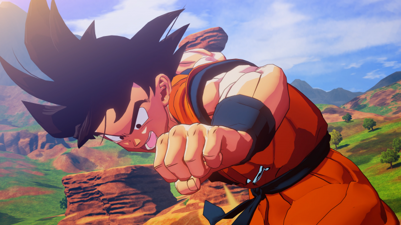 Illustration for article titled The new Dragon Ball Z game is a pitch-perfect recreation of a godawful kids' cartoon