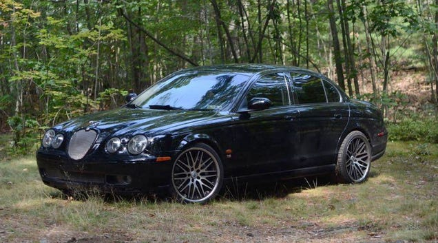 At $9,500, Could This 2003 Jaguar S-Type R Turn You Into a Cat Lover