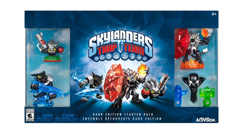 Illustration for article titled The Skylanders  Dark Edition Isn't A GameStop Exclusive This Year