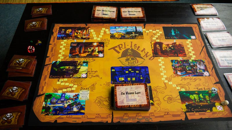 Illustration for article titled Monkey Island Board Game Fights Like a Cow