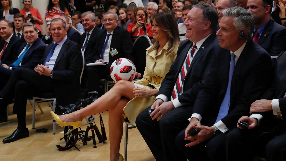 f1e748b23 Turns Out That Soccer Ball Putin Gave Trump Has an NFC Chip in It, But It's  Probably Harmless