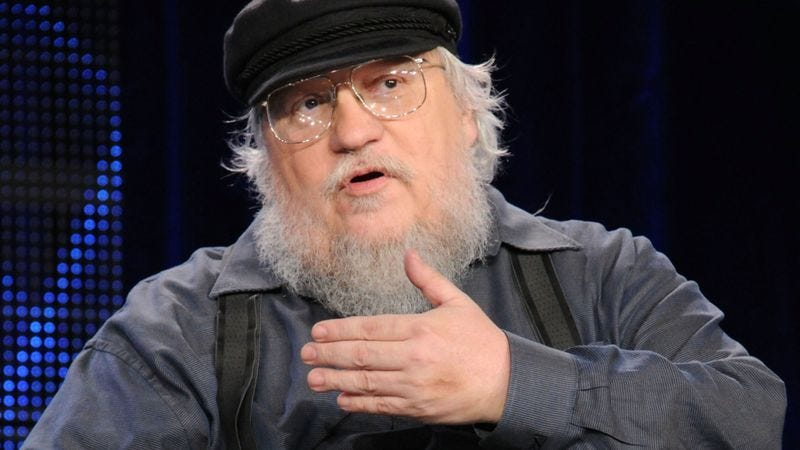 Illustration for article titled 'These Last Two Are Gonna Be Real Turds,' George R.R. Martin Assures Fans