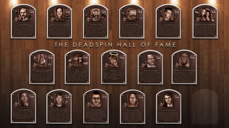 Illustration for article titled Deadspin Hall of Fame 2011: Last Chance To Submit Your Nominations